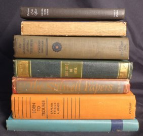 Collection Of Vintage Military Biography Books