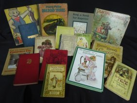 Collection Of Antique & Vintage Children's Books