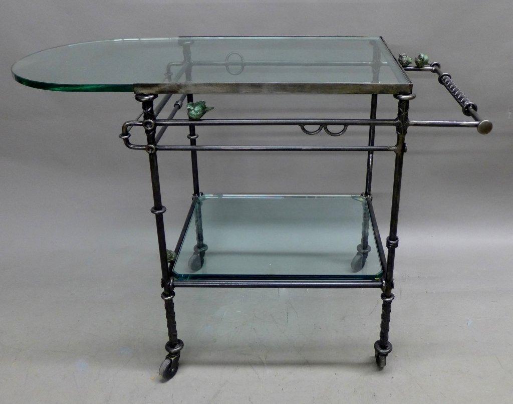 Ilana Goor Signed & Limited Edition Tea Cart