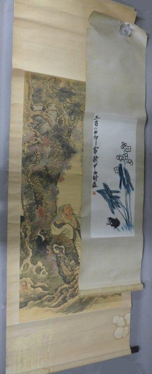 2 Chinese Scrolls