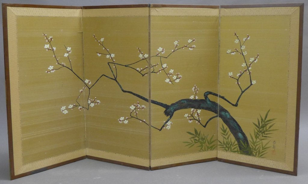 Four Panel Table Screen
