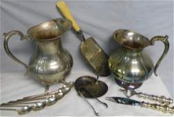 Collection of Vintage  Antique Serving Ware