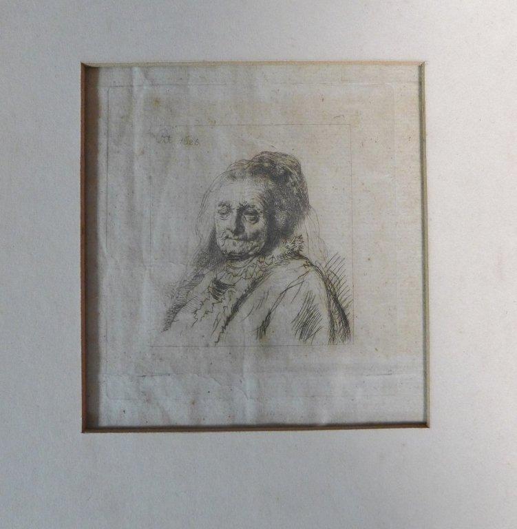 Rembrandt Harmenszoon van Rijn, Dutch (1606-1669)