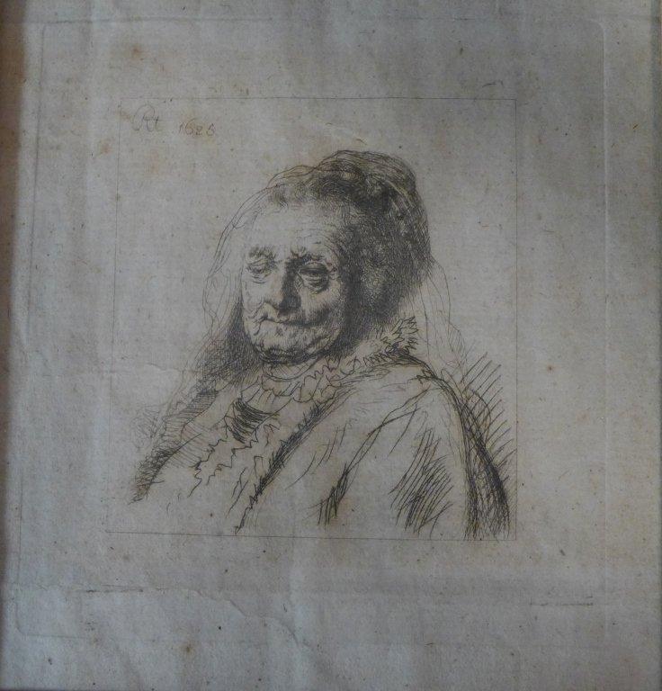 Rembrandt Harmenszoon van Rijn, Dutch (1606-1669) - 2