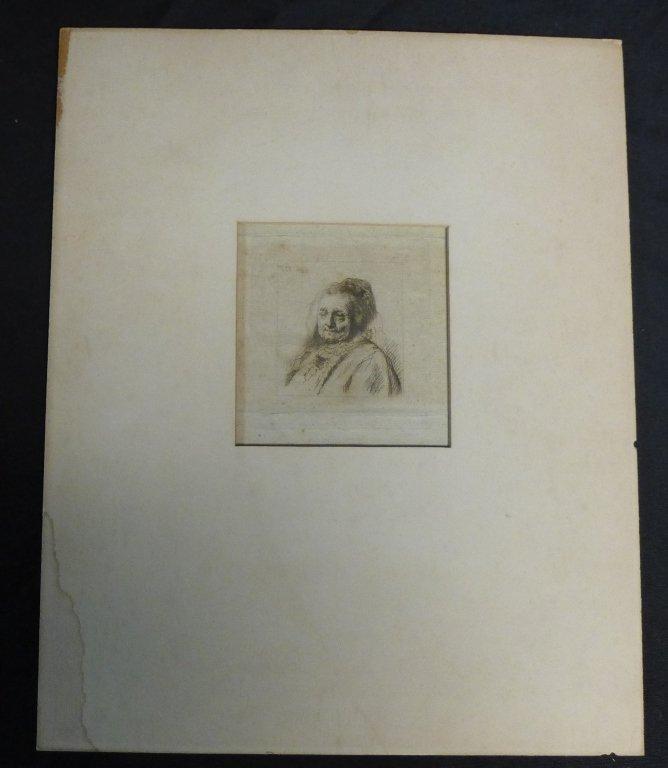 Rembrandt Harmenszoon van Rijn, Dutch (1606-1669) - 7