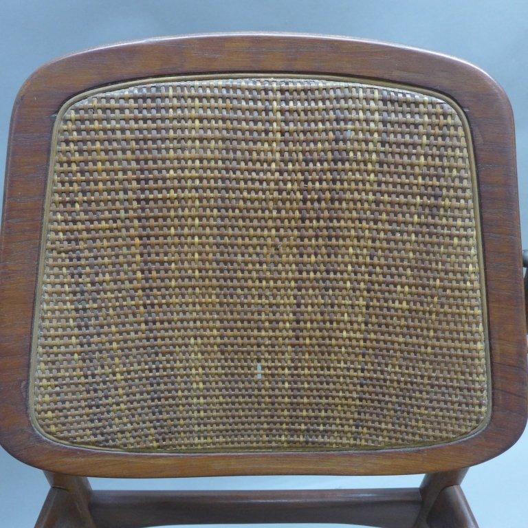 Pair Arne Vodder Danish Modern Teak Arm Chairs - 5