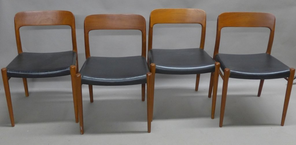 Four J.L. Moller Dining Chairs - 2