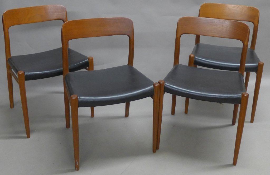 Four J.L. Moller Dining Chairs - 3