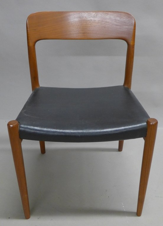 Four J.L. Moller Dining Chairs - 5