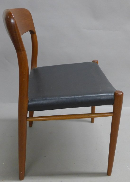 Four J.L. Moller Dining Chairs - 9