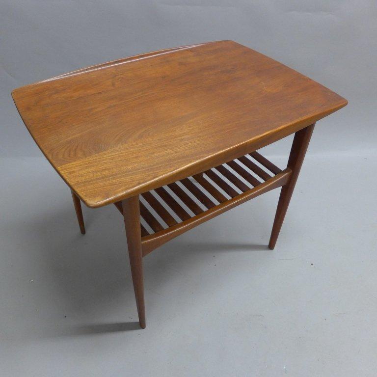 Modern John Stuart Teak Wood Side Table - 10