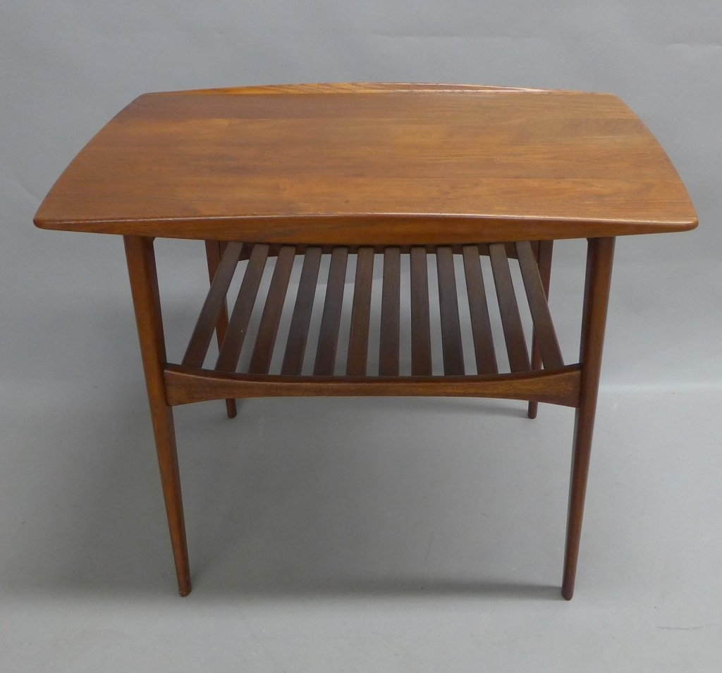 Modern John Stuart Teak Wood Side Table
