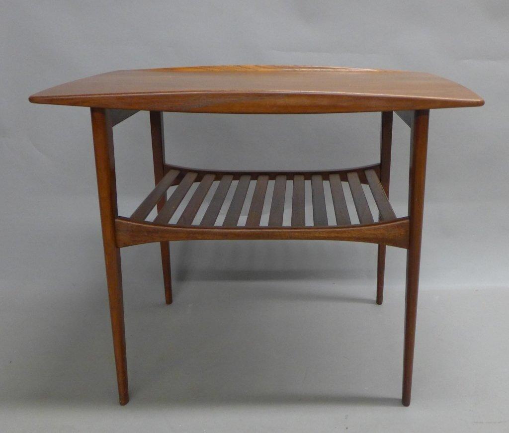 Modern John Stuart Teak Wood Side Table - 2