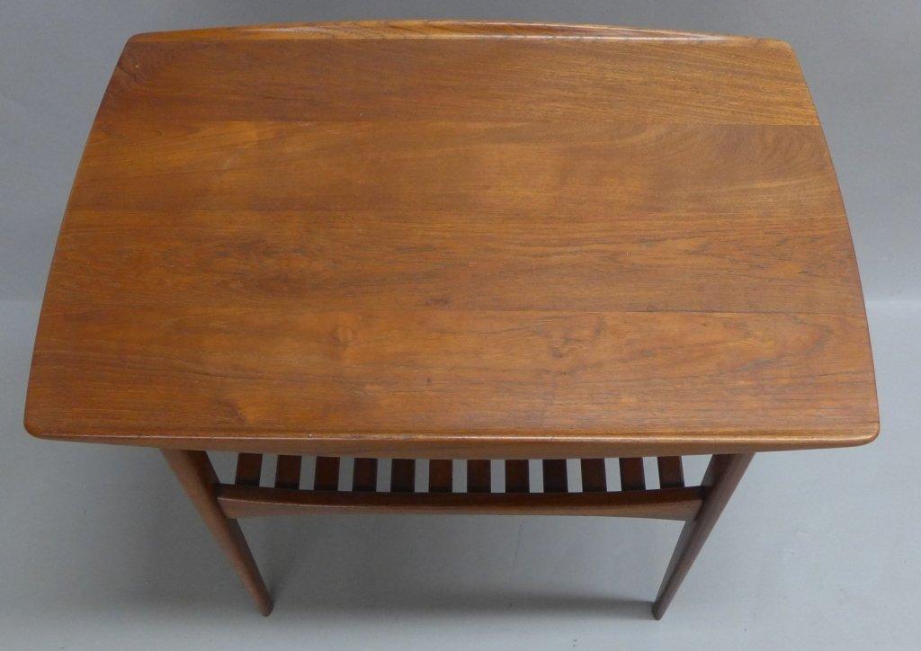 Modern John Stuart Teak Wood Side Table - 3