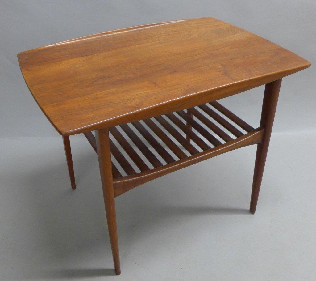 Modern John Stuart Teak Wood Side Table - 4