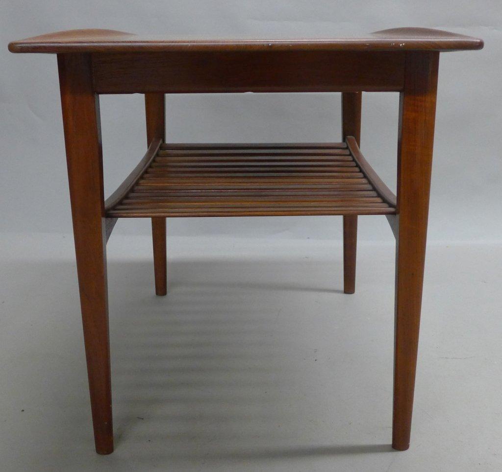Modern John Stuart Teak Wood Side Table - 5