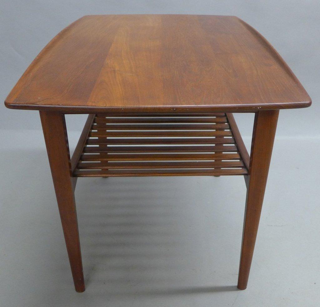 Modern John Stuart Teak Wood Side Table - 6