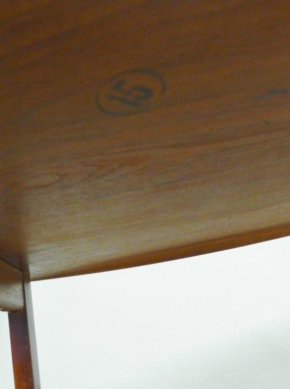 Modern John Stuart Teak Wood Side Table - 8
