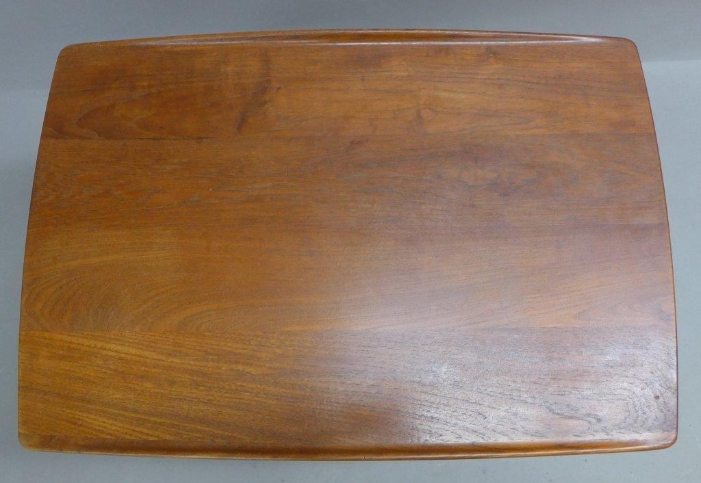 Modern John Stuart Teak Wood Side Table - 9