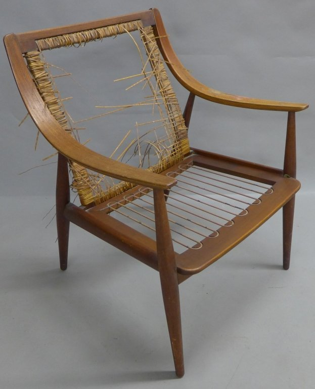 Danish Modern Teak Lounge Chair, John Stuart