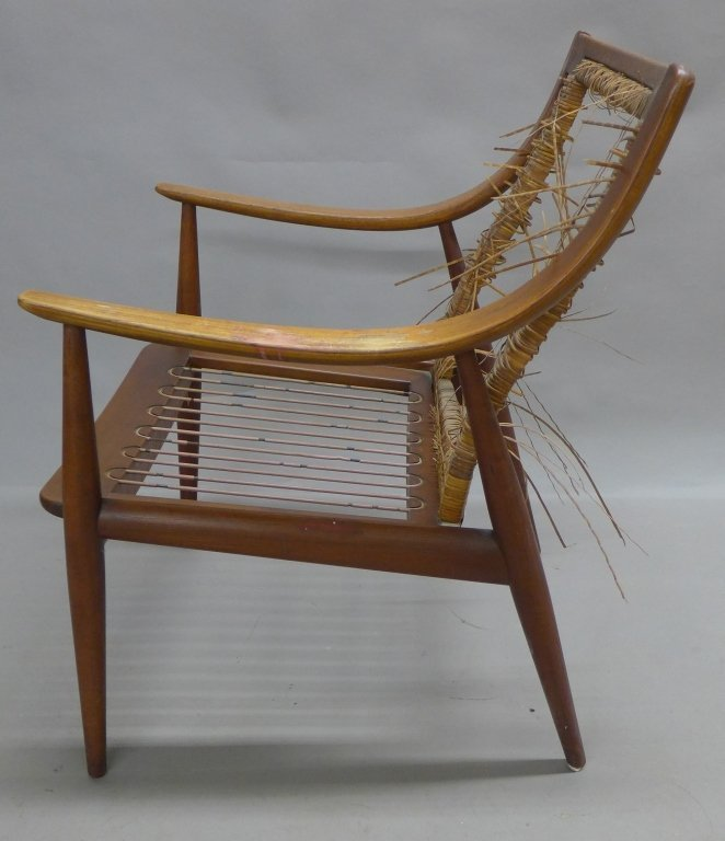 Danish Modern Teak Lounge Chair, John Stuart - 4