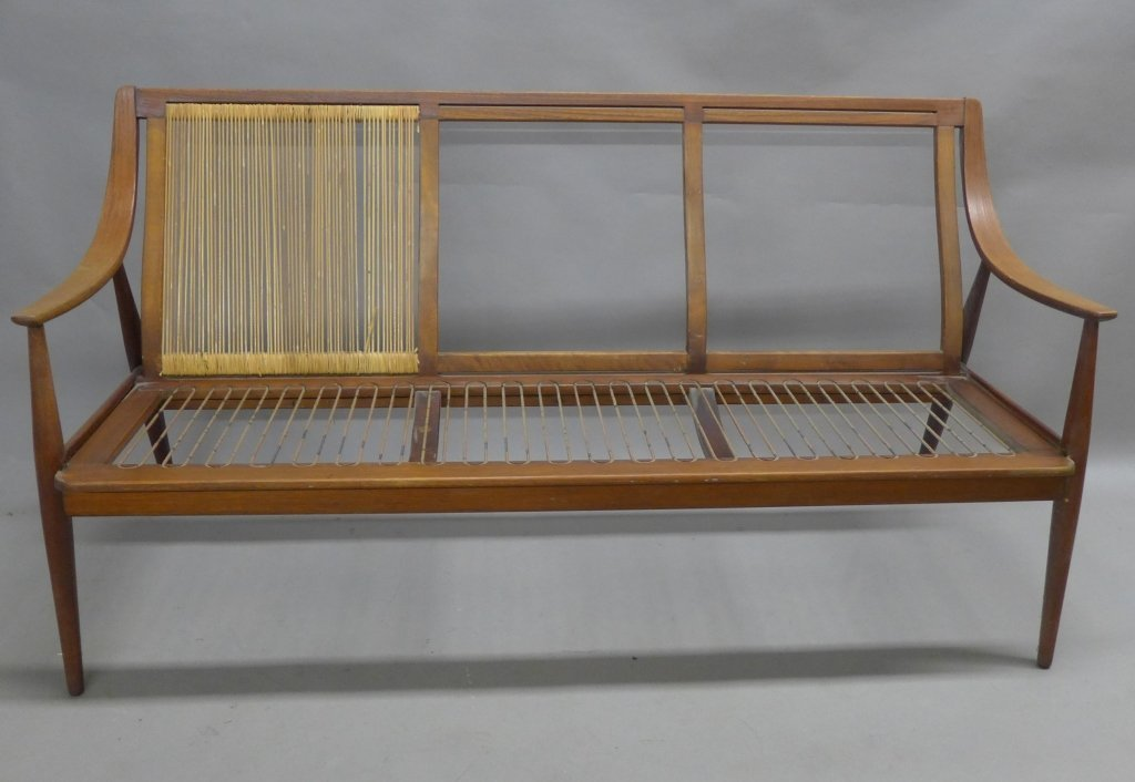 Danish Modern Teak Couch Seat, John Stuart
