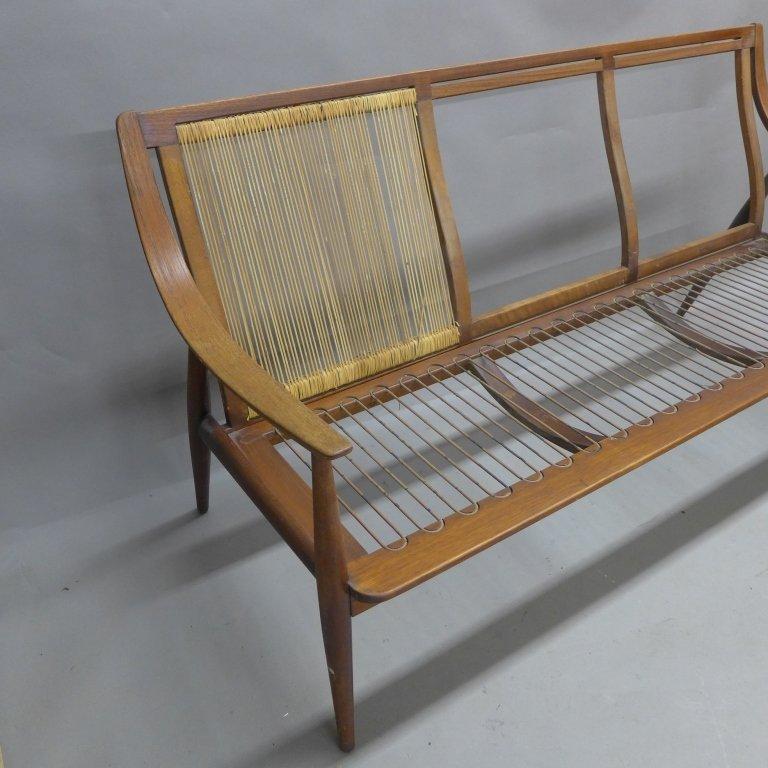 Danish Modern Teak Couch Seat, John Stuart - 2