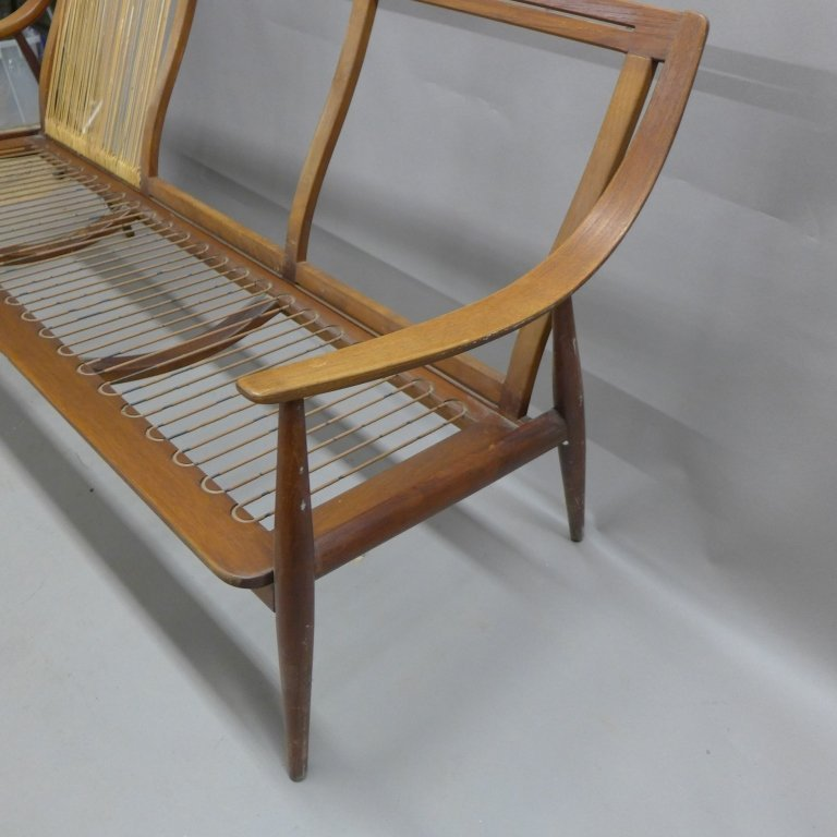 Danish Modern Teak Couch Seat, John Stuart - 5