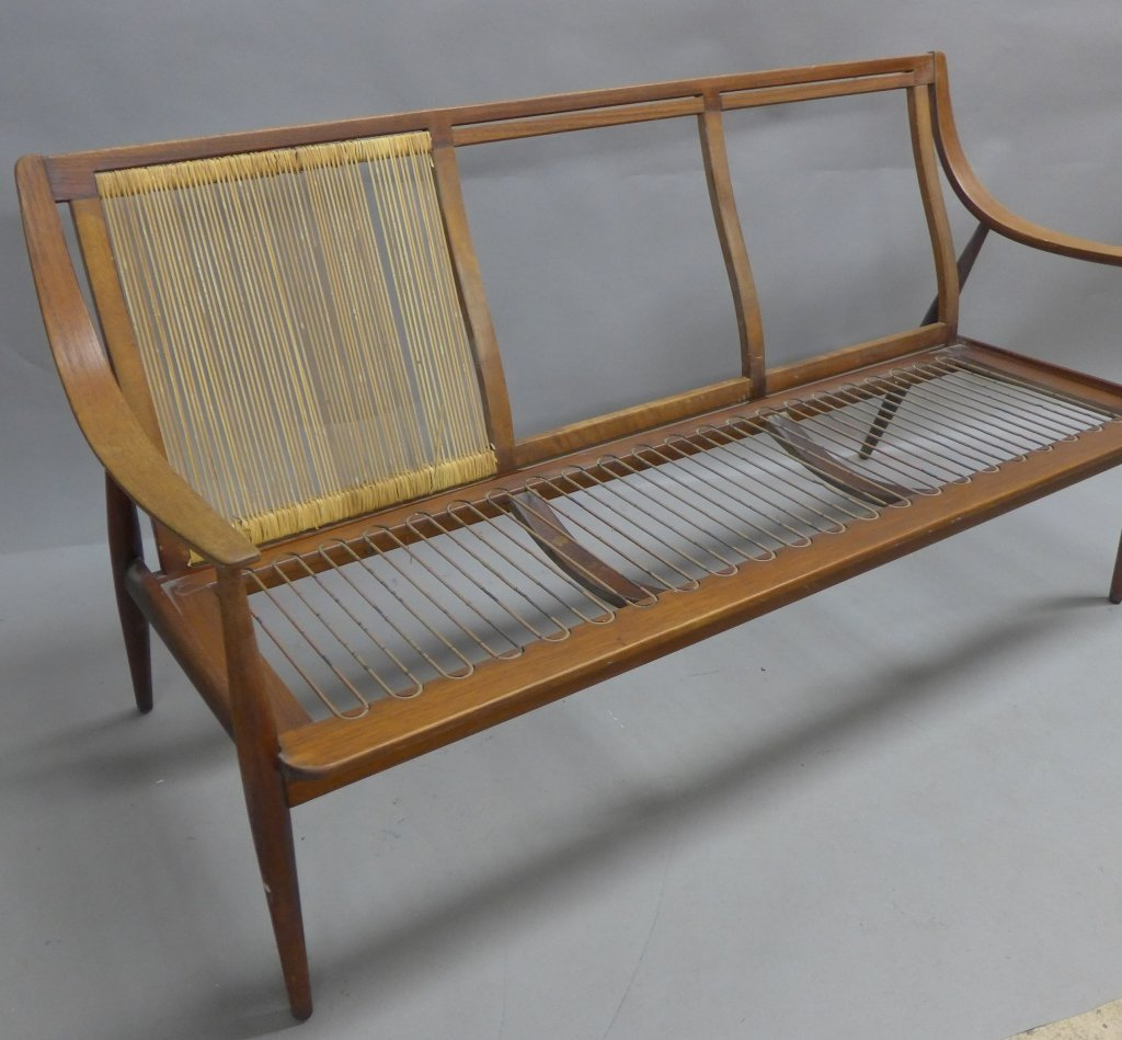 Danish Modern Teak Couch Seat, John Stuart - 6