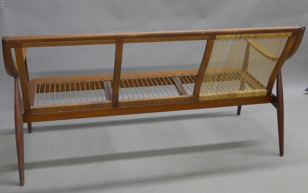 Danish Modern Teak Couch Seat, John Stuart - 8