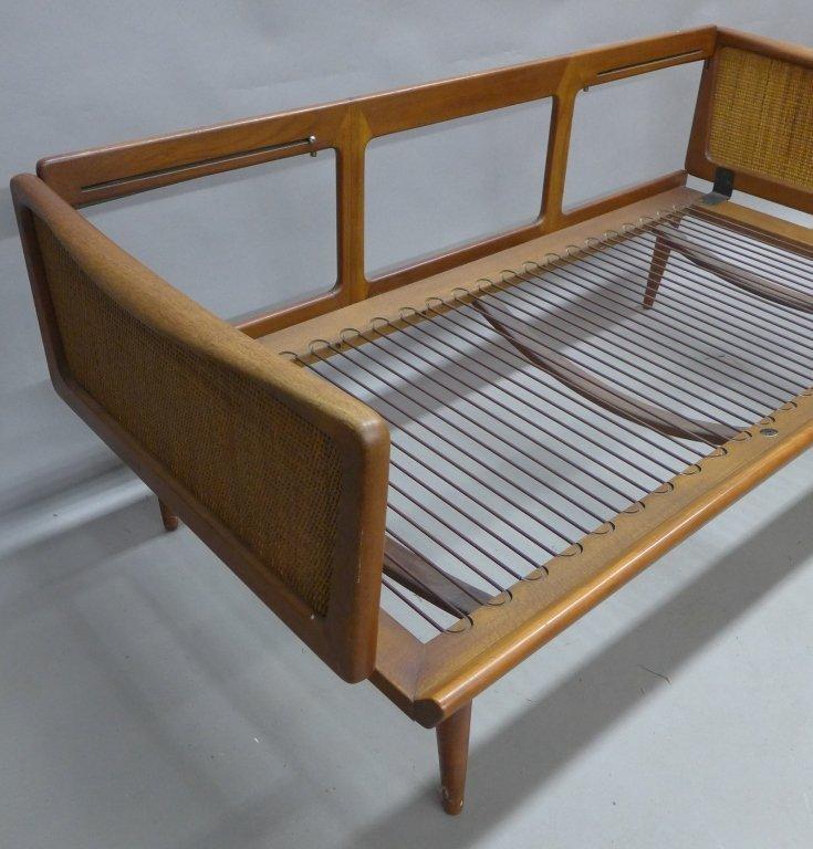 Mid Century Modern Teak Couch by Peter Hvidt - 2