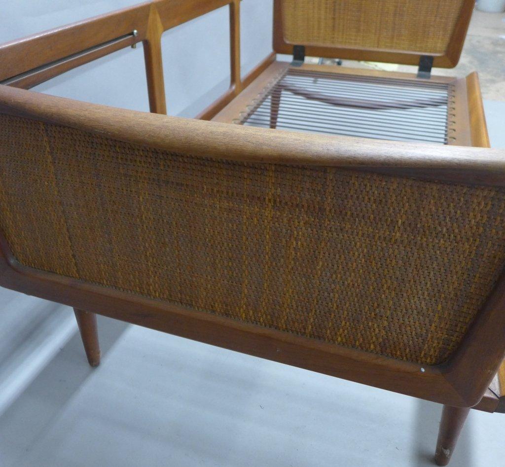 Mid Century Modern Teak Couch by Peter Hvidt - 5