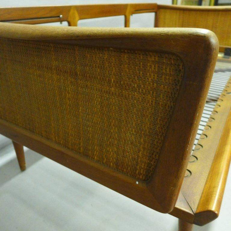 Mid Century Modern Teak Couch by Peter Hvidt - 6