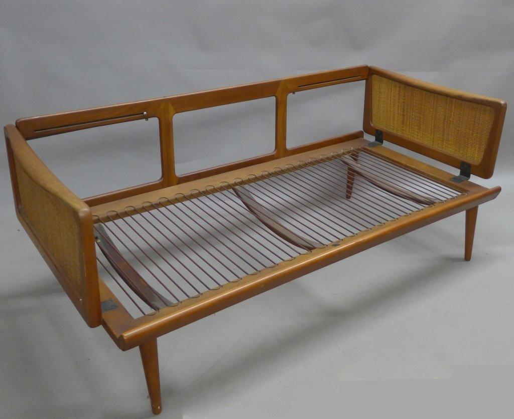 Mid Century Modern Teak Couch by Peter Hvidt - 7