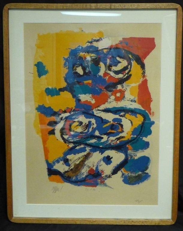 Karel Christiaan Appel, Dutch  (1921 - 2006) - 2