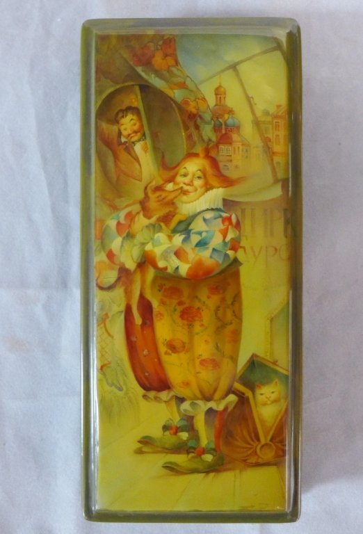 Hand Painted Russian Lacquer Boxes - 2