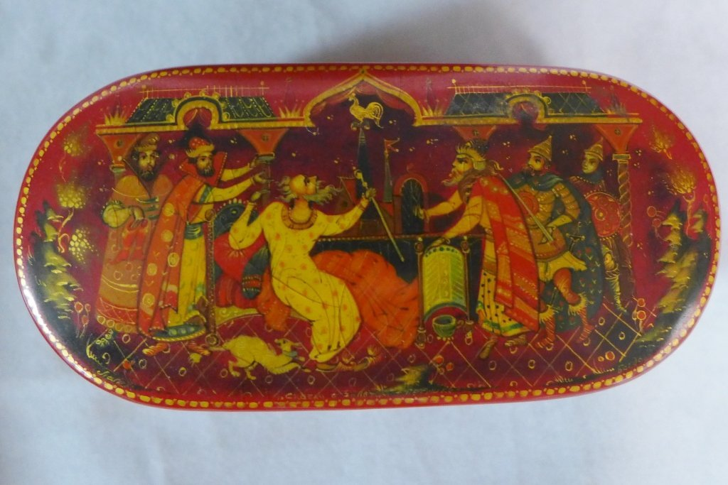 Hand Painted Russian Lacquer Boxes - 4