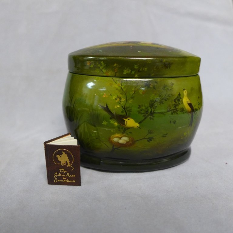 Hand Painted Russian Lacquer Boxes - 8