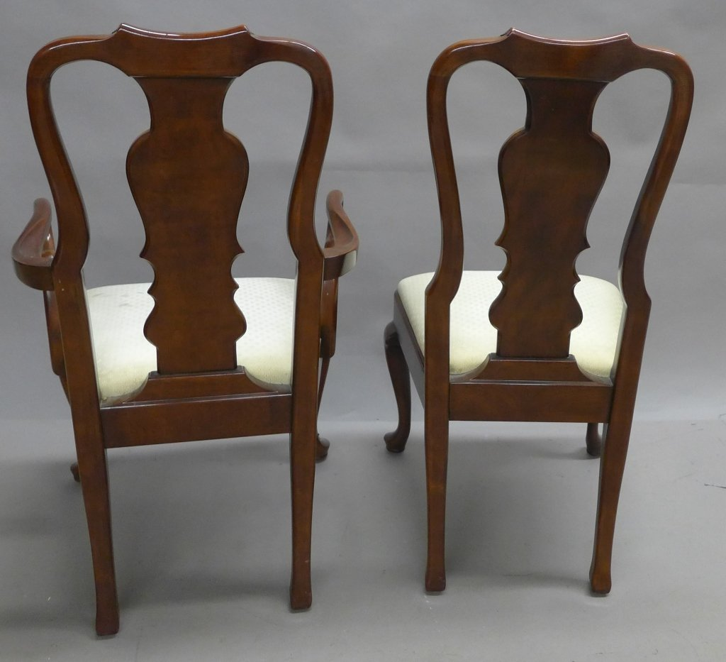 Henredon Dining Table and Chairs - 7