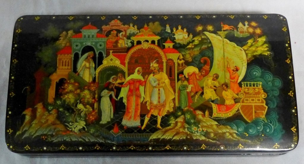 Beautiful Russian Lacquer Box