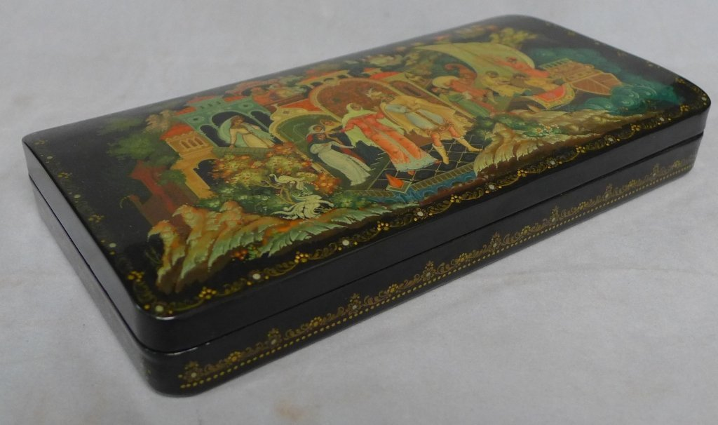 Beautiful Russian Lacquer Box - 2