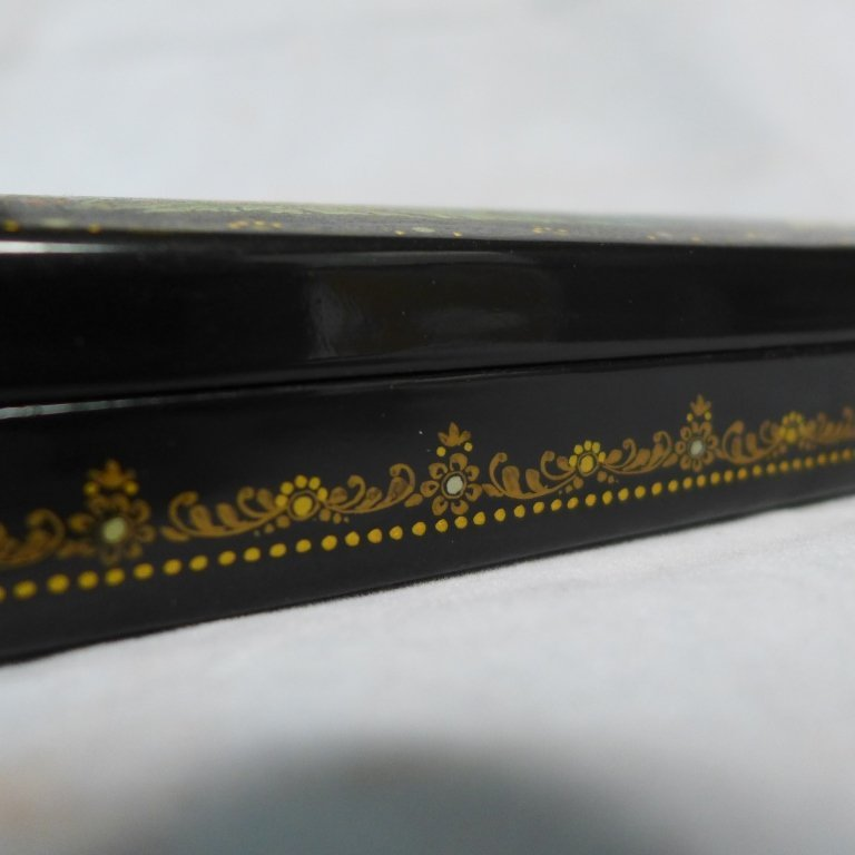 Beautiful Russian Lacquer Box - 6