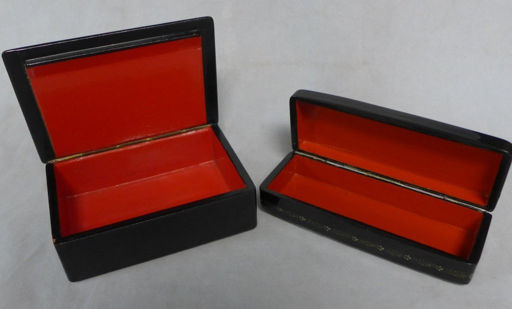 Two Russian Lacquer Boxes - 3