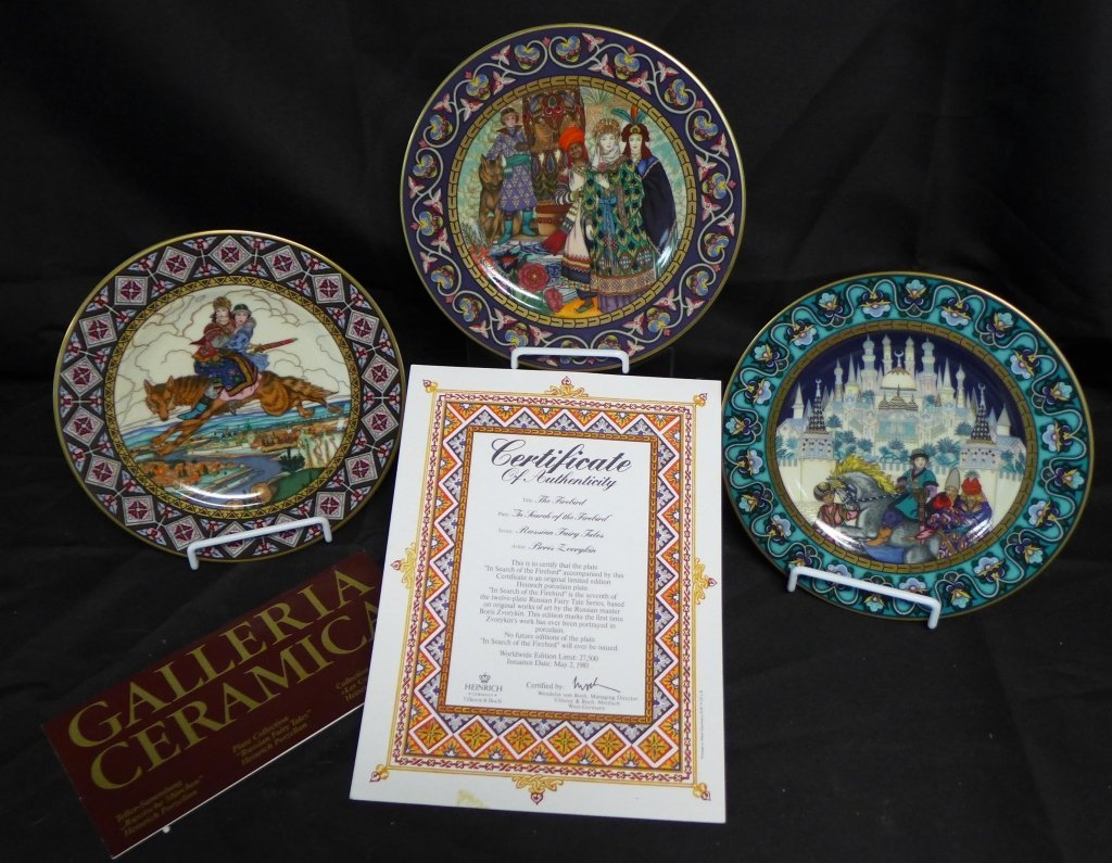 Heinrich Russian Fairy Tales Collector Plates