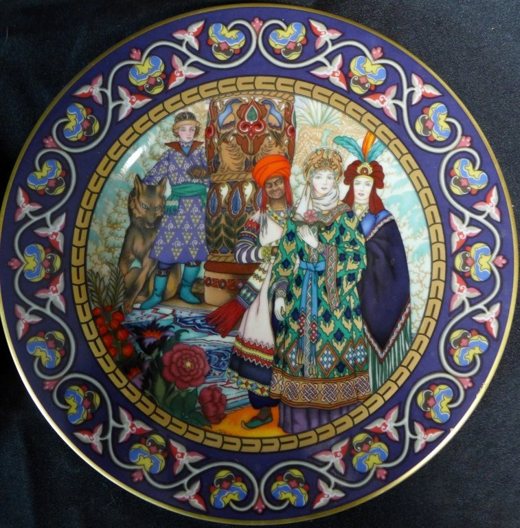 Heinrich Russian Fairy Tales Collector Plates - 6