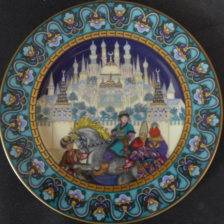 Heinrich Russian Fairy Tales Collector Plates - 8
