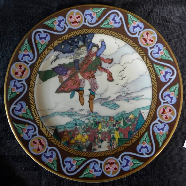 3 Heinrich Russian Fairy Tales Collector Plates - 5