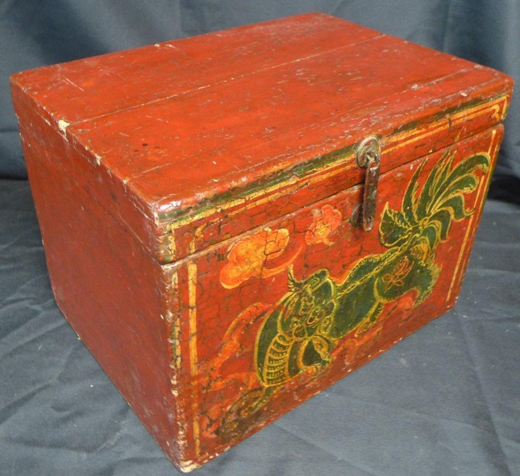 Antique Groom's Lion Case