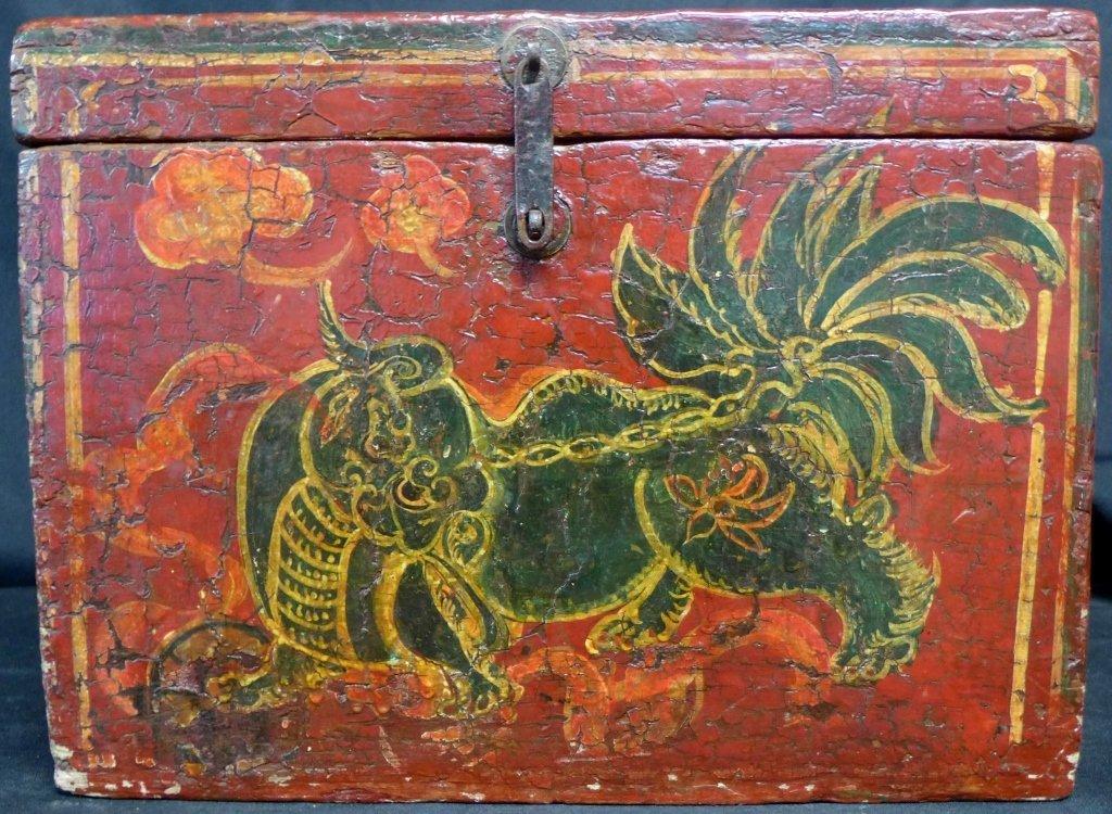 Antique Groom's Lion Case - 2