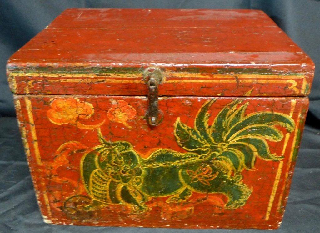 Antique Groom's Lion Case - 3